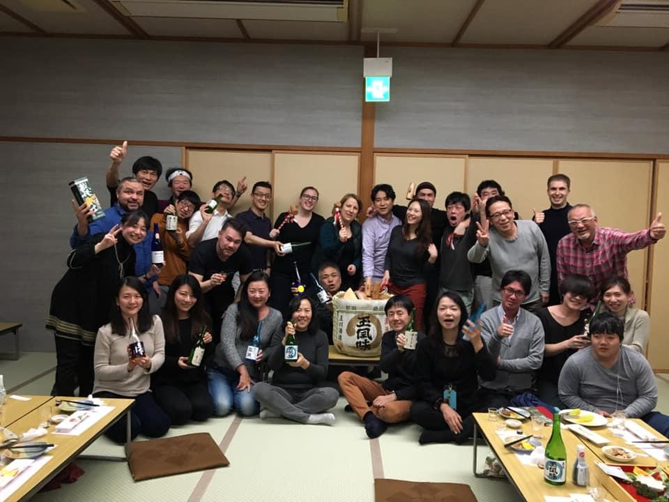 Tamagawa sake brewery