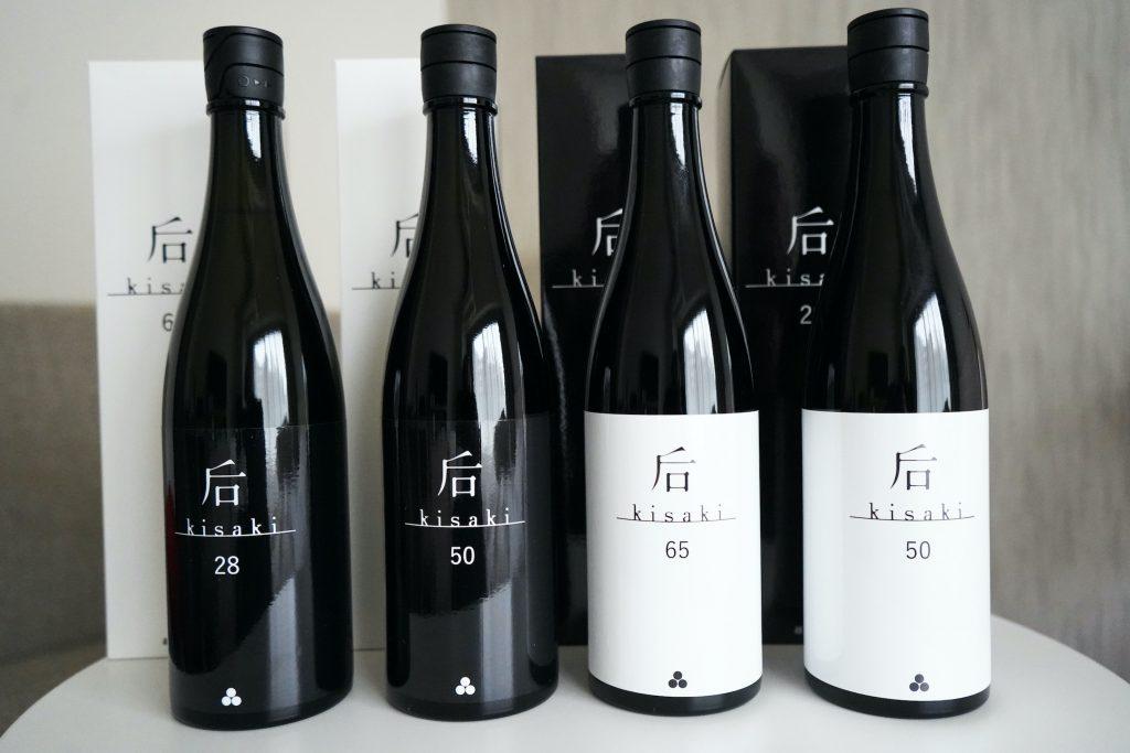 Yoshinotomo Shuzo Kisaki sake: Kisaki 28, Kisaki 50, Kisaki 65