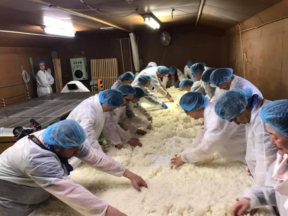 Sake making experience